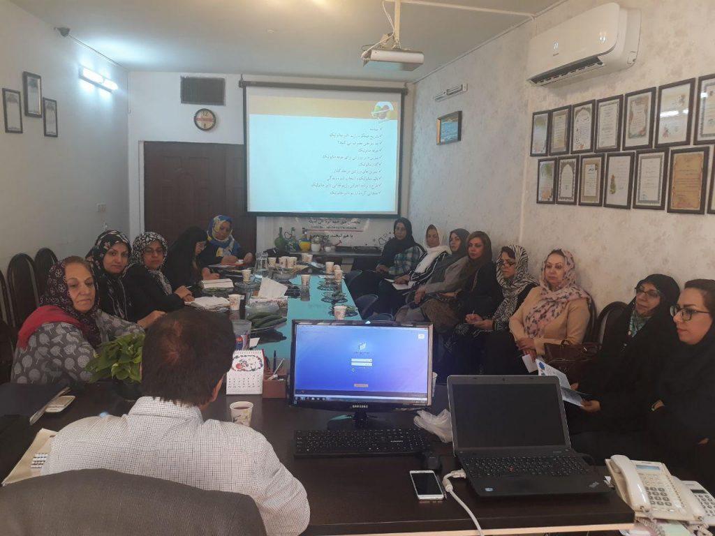 کارگاه مددکاری در مشهد دارالاکرام