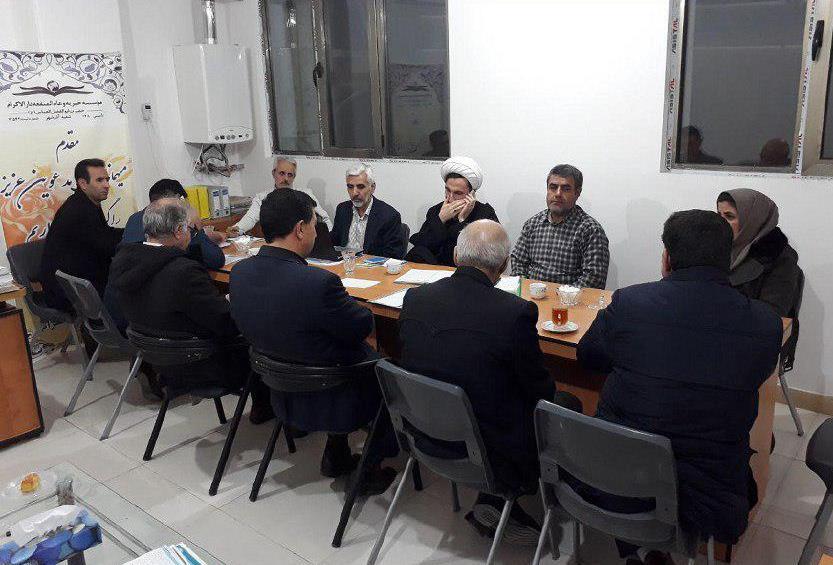 برگزاری جلسه شورای راهبردی در شعبه تازه تاسیس آذرشهر