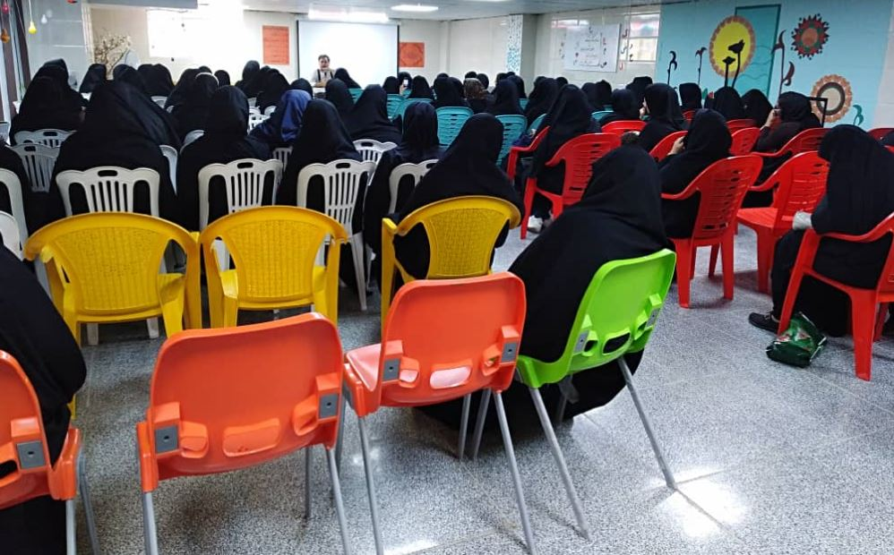 برگزاری کارگاه سلامت برای خانواده های بورسیه در شهر جهرم