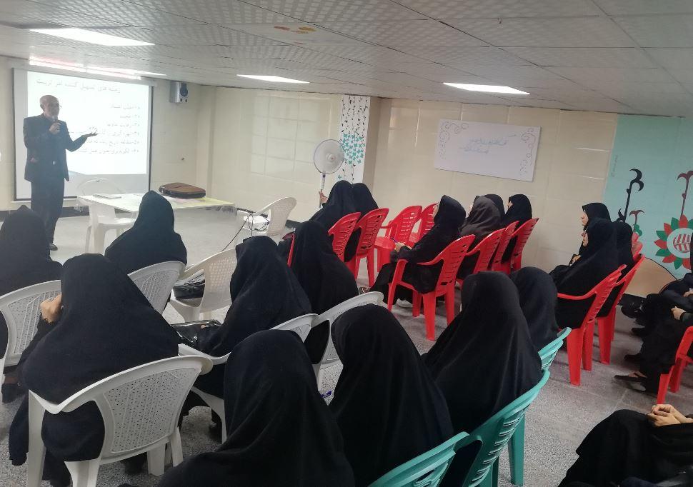 ادامه برگزاری کارگاه های آموزشی در سطح مددکاران شعبه جهرم